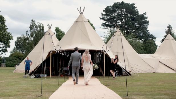 Yorkshire Wedding Videographers, Sandon Hall Wedding Film